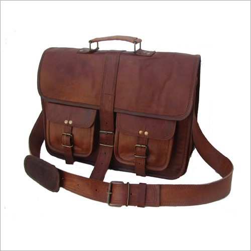 Office Leather Sling Bag