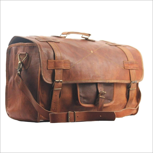 Leather Brown Travel Bag