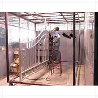 Wrought Iron Powder Coating Service
