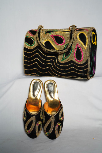 Handmade Work Ladies Bag & Shoes