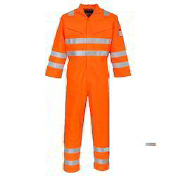 Blue Plain Nomex Iii Protective Coveralls