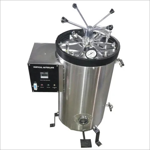VERTICAL HIGH PRESSURE AUTOCLAVE TRIPLE WALL