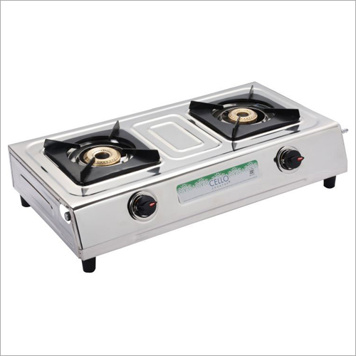 SS Body And MS Powder Coated Gas Stove