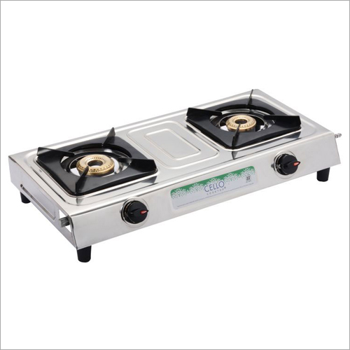 Domestic SS 2 Burner Gas Stove