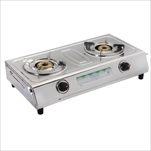 Cello SS 2 Burner Gas Stove