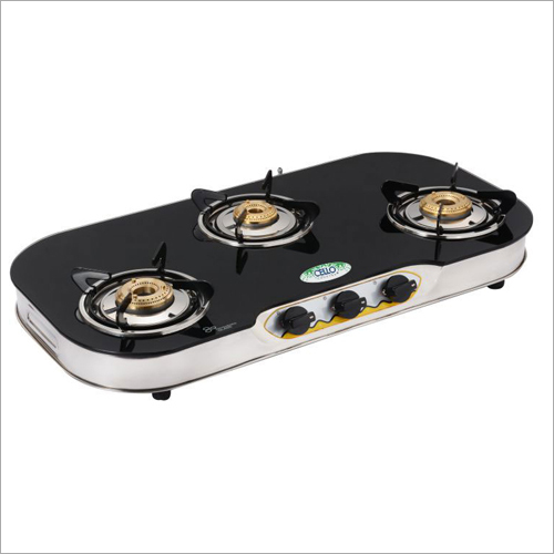 Heat Resistant Toughened Glass Top Gas Stove