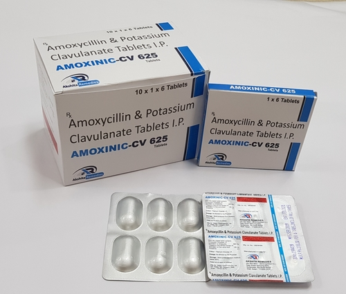 Amoxycillin and Potassium Clavulanate Tablets