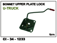 Bonnet Upper Plate Lock  U  Truck L/R
