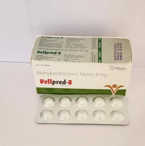 Methylprednisolone 8Mg
