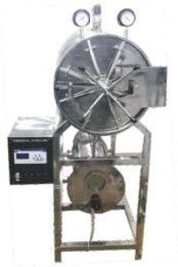 HORIZONTAL HIGH PRESSURE AUTOCLAVE DOUBLE WALL