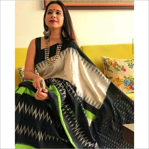 Designer Cotton Mulmul Printed Saree