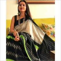 Designer Cotton Mulmul Printed Saree