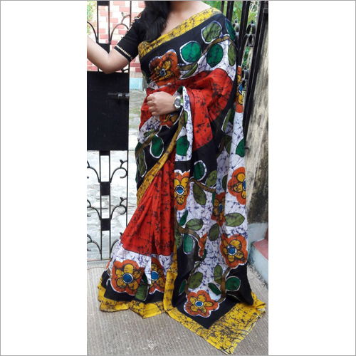 Stylish Ladies Partywear Silk Saree