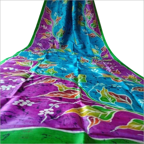 Designer Mom Chitra Batik Candle Murshidabad Silk Saree