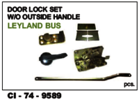 Door Lock Set W/O Out Side Handle Leyland Bus
