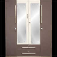 Hinged Double Door Steel Almirah