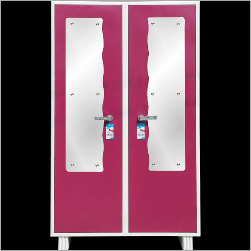 Stainless Steel Double Door Almirah