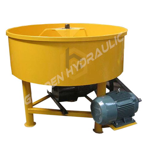 Industrial Pan Mixer Machine