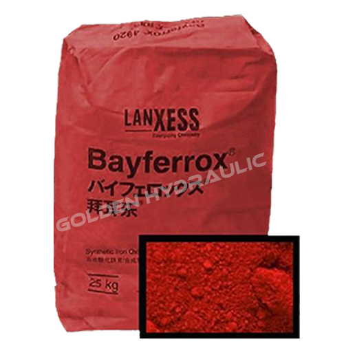 Colorful Iron Oxide Pigment