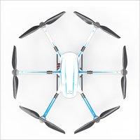 Hybrid Electric Six Rotor Drone