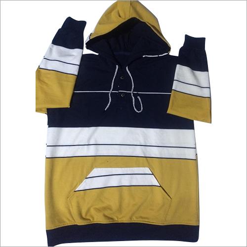 Mens Plain Hoodie Sweatshirt
