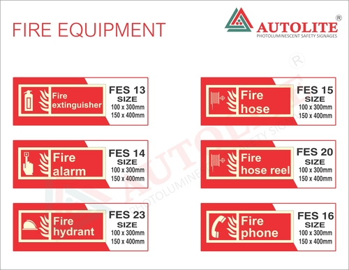 Fire Equipment Signages