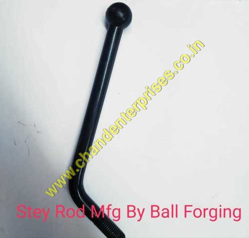 STAY ROD WITH BALL FORMING