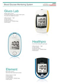 Blood Glucose Meters