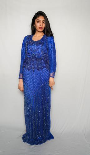 Blue Gown Dress