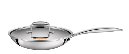 Tri-ply Stainless Steel Fry Pan