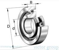 INA Axial angular contact ball bearings 7603-2RS SERIES