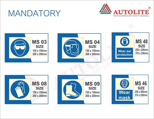 Mandatory Signages