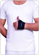 WRIST BRACE WITH THUMB HOLE