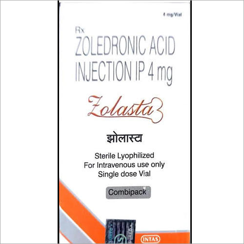 Zolasta 4 MG Zoledronic Acid Injection IP