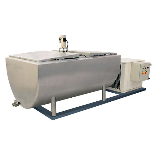 Semi Cylindrical 2000 Litre Bulk Milk Cooler