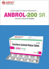 Aceclofenac 200mg SR Tablet