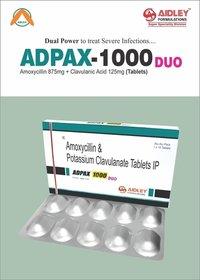 Amoxycillin 875mg + Clavulanic acid 125mg