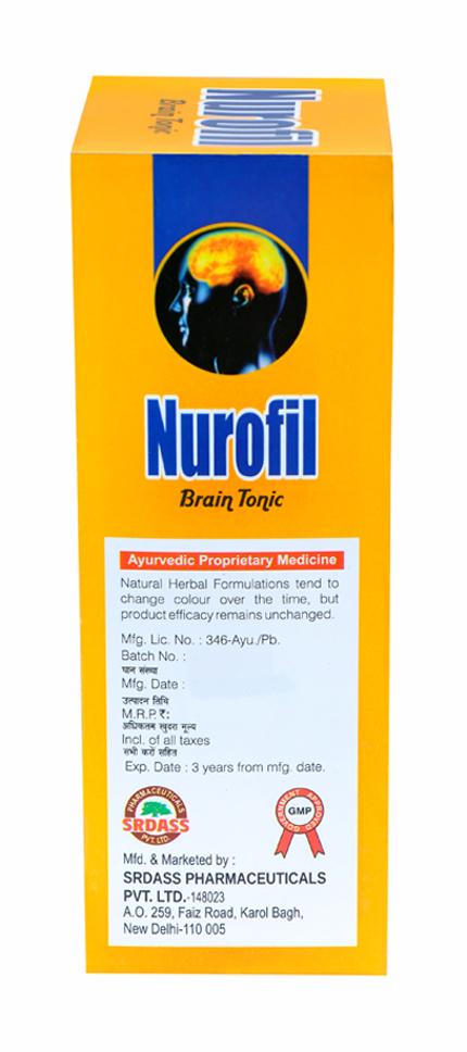 Nurofil Brain Tonic Syrup