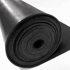 black color rubber sheet