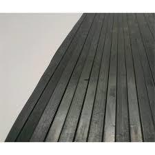 broad rib rubber mat for flooring
