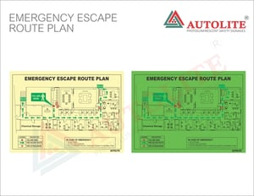 Fire & Emergency Escape Route Plan