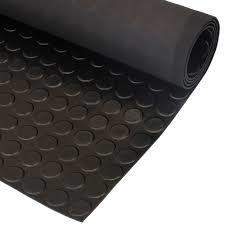 coin mat rubber sheet