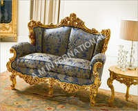 Two Seater Antique Sofa