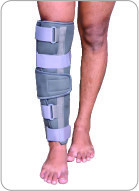 Long Type Knee Immobilizer