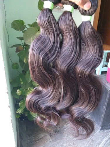 Double Drawn Weft Hair