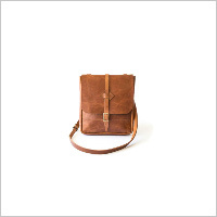 Tan Side Sling Bag 12