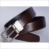 Brown Cursh Look Fromal Reversibal Belt