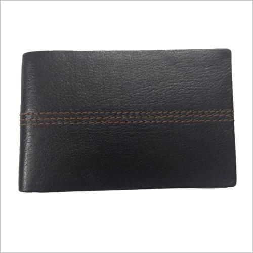 MRI Brown Stitch Wallet