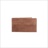 MRI Tan Tri Stitch Wallet