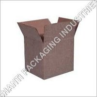 Jute corrugated packaging box
